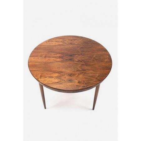 Palissander ronde houten eettafel
