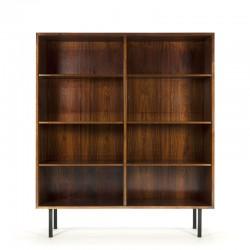 Rosewood vintage bookcase design Omann Jun