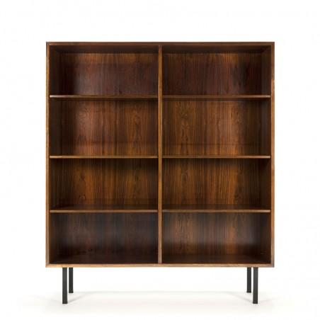 Palissanderhouten vintage boekenkast design Omann Jun