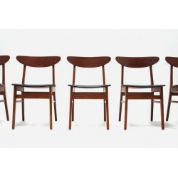 Set of 6 chairs by Farstrup