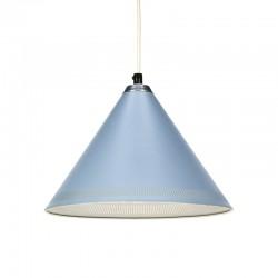 Lyfa vintage Deense design hanglamp in blauw
