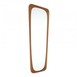 Aarhus Danish vintage teak mirror