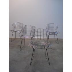 Wire side chairs Harry Bertoia