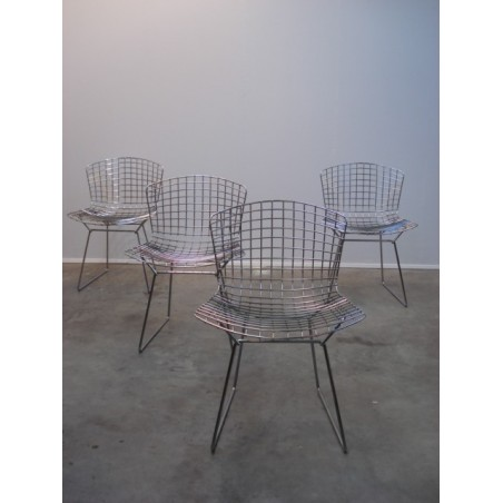 Wire side chairs Harry Bertoia