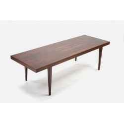 Rosewood side table designed by Johannes...