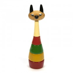 Vintage wooden toys from the sixties