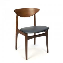 Danish vintage luxury dining table chair in teak