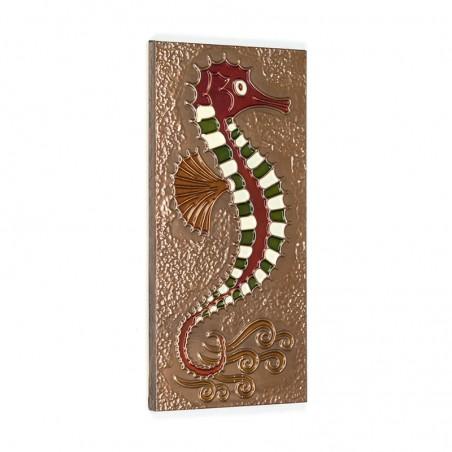 Vintage wall decoration Seahorse