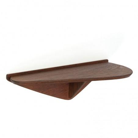 Organically designed vintage small wall shelf