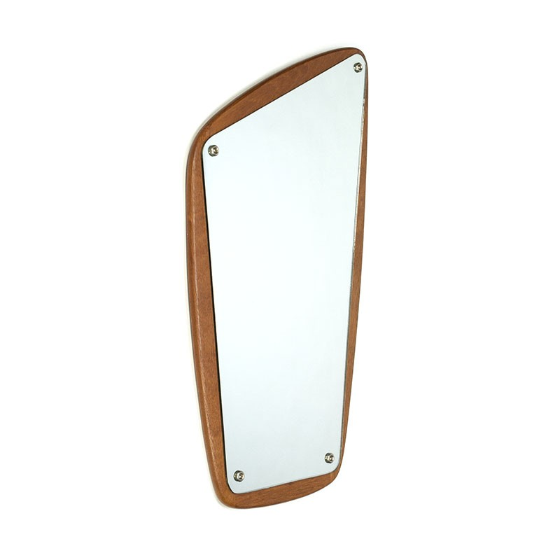 Organically designed vintage mirror Aarhus design