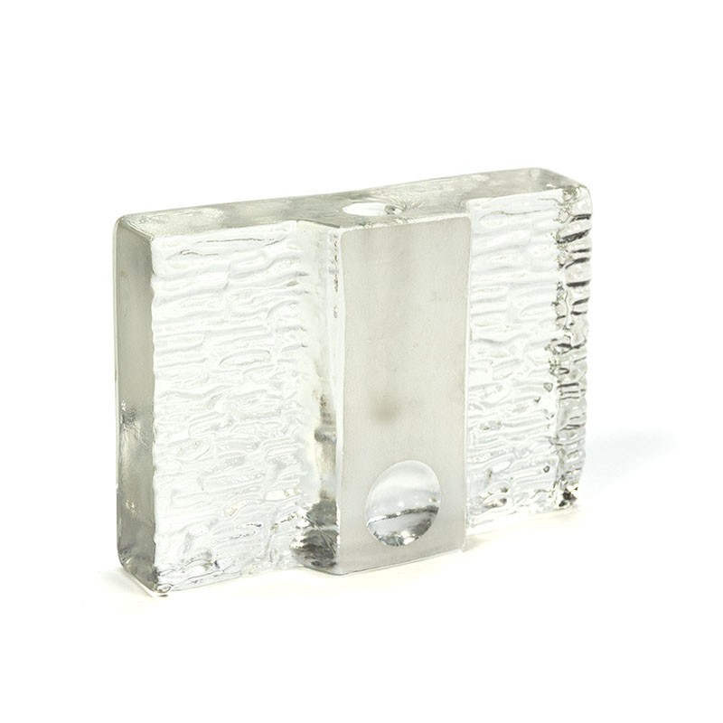 Glass vintage solifleur by Walther design