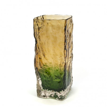 Scandinavian vintage glass design vase