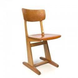 Casala vintage wooden school chair