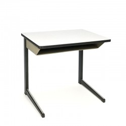 Vintage industrial children's school desk brand Marko