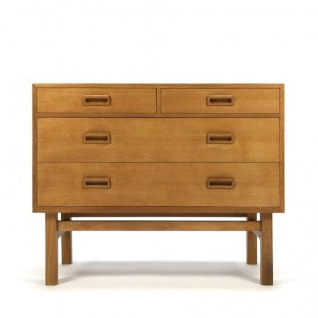 Oak vintage dresser design Borge Mogensen