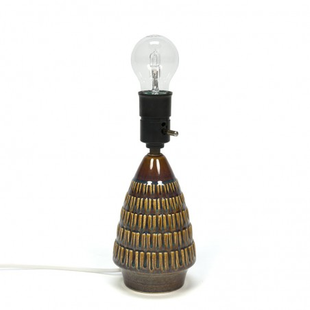 Design Søholm vintage keramiek lampenvoet