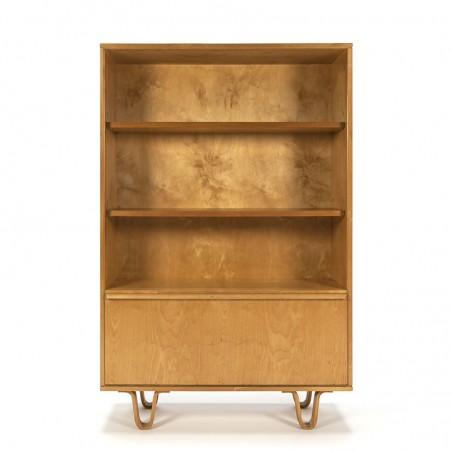 Vintage Pastoe BB03 birch series bookcase design Cees Braakman