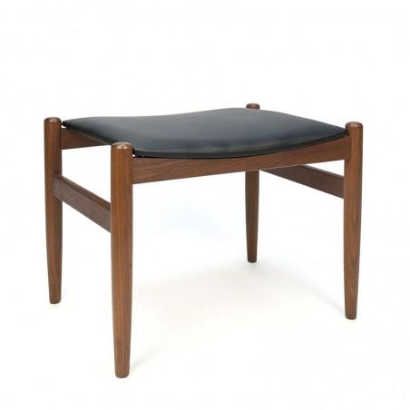 Vintage stool or ottoman Danish sixties
