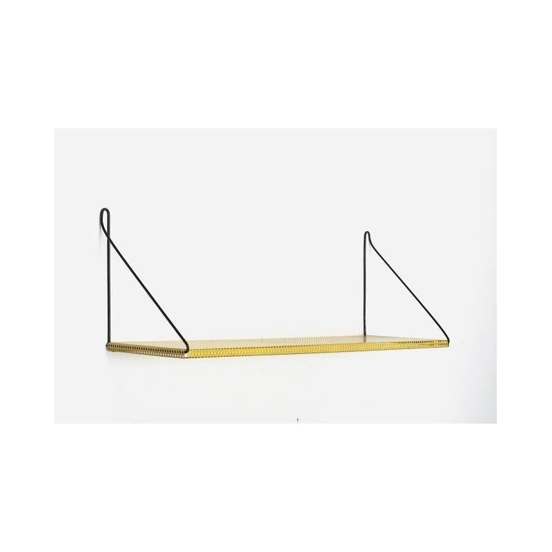 Geel metalen Pilastro boekenplank