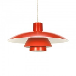 Vintage orange PH 4/3 design Poul Henningsen