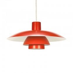 Vintage oranje PH 4/3 design Poul Henningsen
