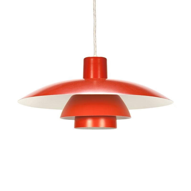Vintage orange PH 4/3 design Poul Henningsen
