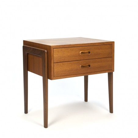 Teak Danish vintage bedside table/ nightstand