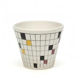 Vintage flowerpot brand ADCO series Picasso