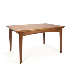 Danish extendable teak vintage design dining table