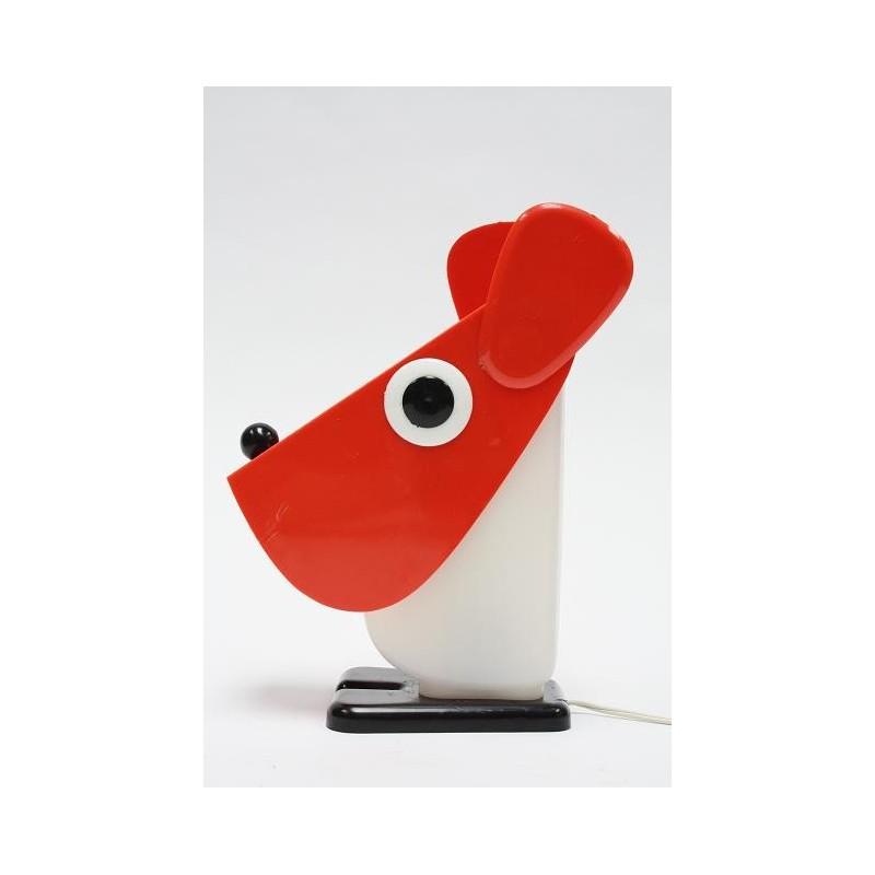 Tafellamp in de vorm van een hondje