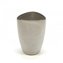 Gray vintage vase brand Ravelli no. 17-1