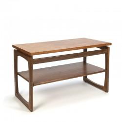 Vintage TV furniture or side table in teak