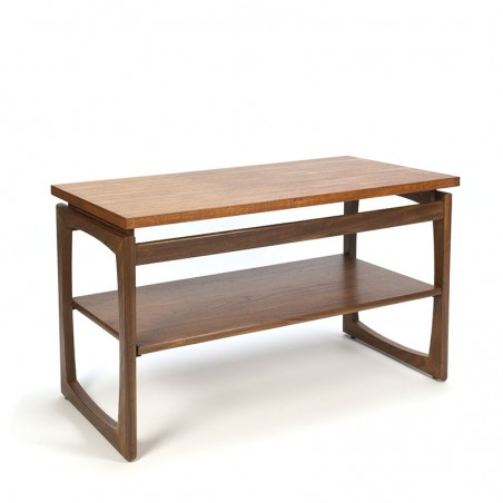 Vintage TV meubel of side tafel in teak