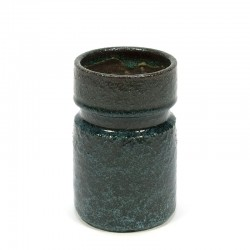 Vintage keramiek vaas van Pieter Groeneveldt