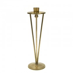 Vintage brass candlestick from the 1960's