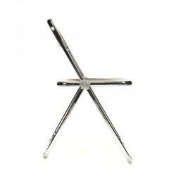 Vintage design Plia klapstoel ontwerp G. Piretti voor Castelli
