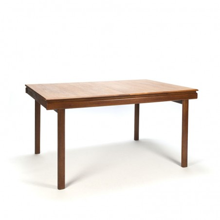 Vintage extendable teak dining table from the 1960's