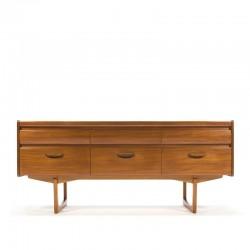 Mid-Century design vintage sideboard in teak
