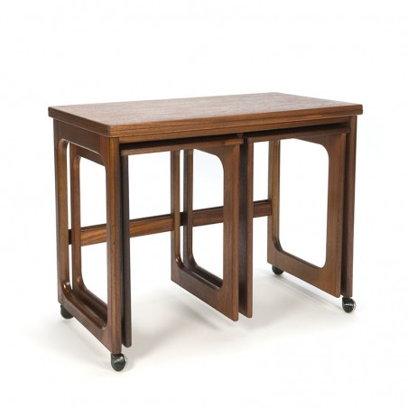 Vintage folding side table from Mcintosh