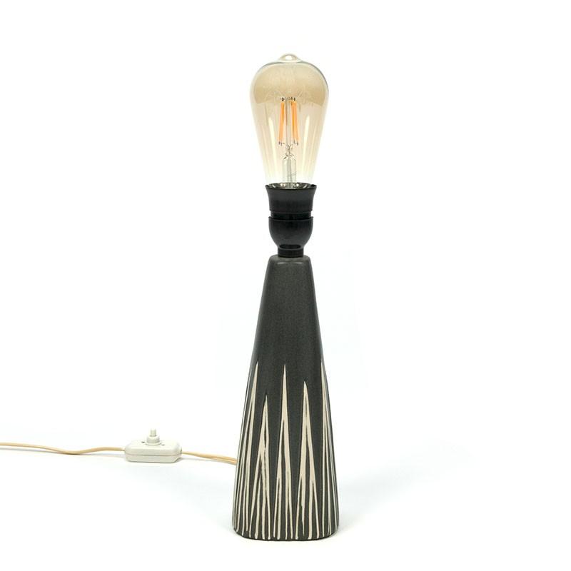 Deense tafellamp van keramiek