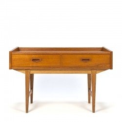 Swedish vintage teak low model chest of drawers
