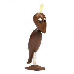 Deense vintage vogel design flesopener