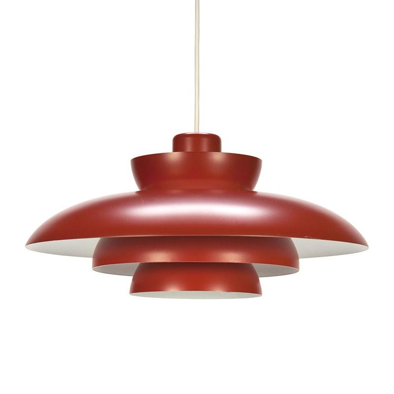 Penta vintage Fog en Morup hanglamp ontwerp Jo Hammerborg