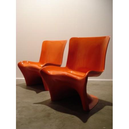 Polyfiber stoel van Hans Christiansen