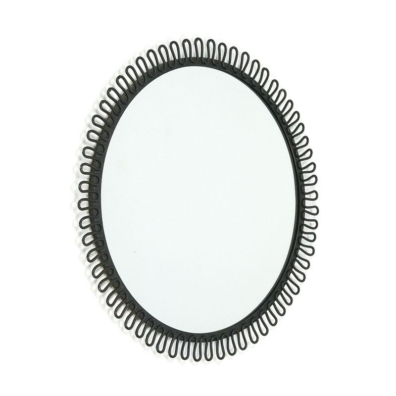 Zweeds vintage spiegeltje ontwerp in stijl van Josef Frank