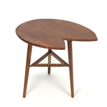 Danish vintage design side table from the fifties