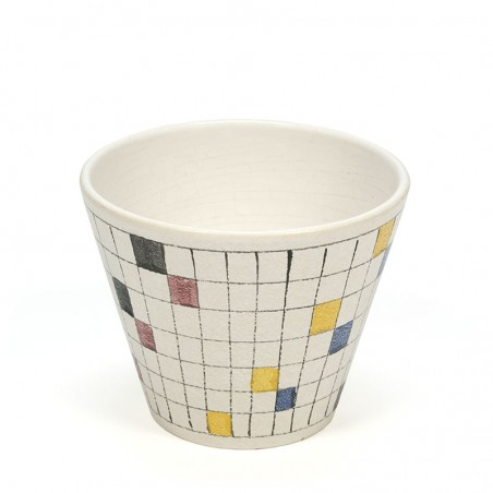 ADCO vintage flowerpot from the Picasso series
