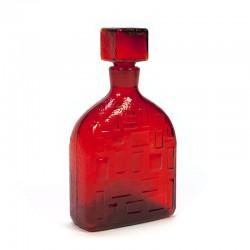 Italian vintage glass carafe/ bottle