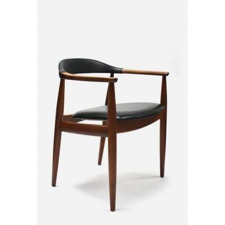 Danish desk chair by W. Eilensen