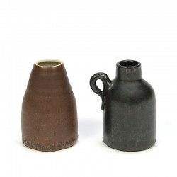 Set of 2 miniature Mobach vases